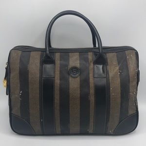 Authentic Fendi Vintage Tote Travel Bag